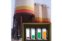 Touch Screen Enhances Silo Weight Display