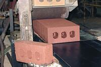 Bricks from Green Leaf Brick