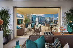 Third-floor terraces are appealing outdoor entertainment zones for homeowners, replacing backyard decks and terraces where land costs are high.