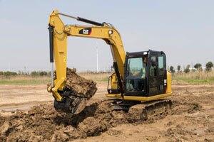Cat 307E2 Mini Excavator