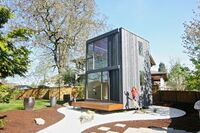 Revolutionary Idea: A Portland Tiny House on a Turntable