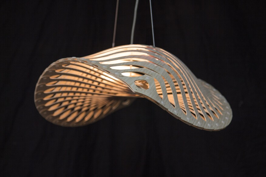 Reclaimed Wood Wall Light Fixture