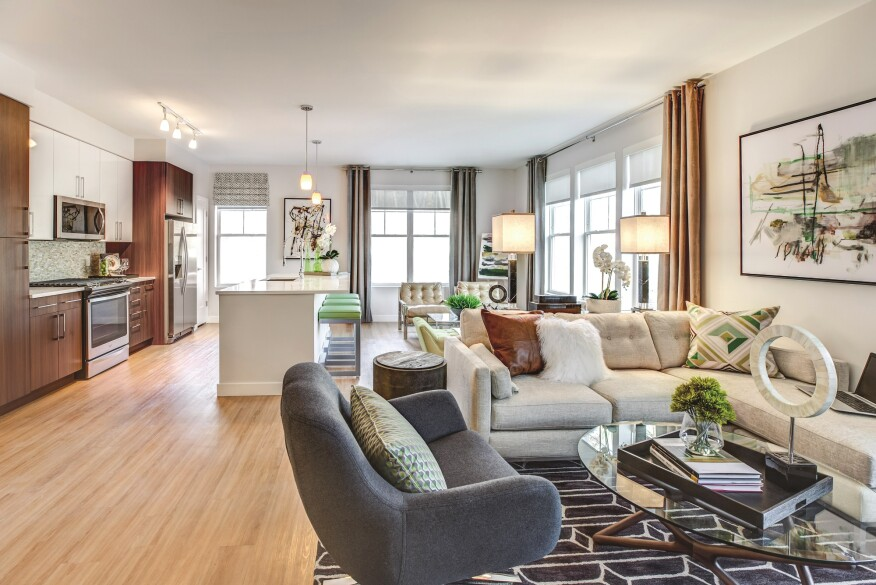 Lincoln's Danforth Apartments in Dobbs Ferry, N.Y., is just 25 miles north of Manhattan.