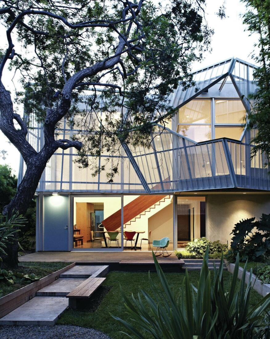 The 2011 Palms House in Venice, Calif., by Daly Genik Architects.