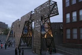 Party Wall at MoMA PS1