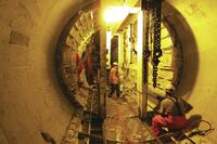 Waterproofing Toronto's Strachan Avenue Tunnel