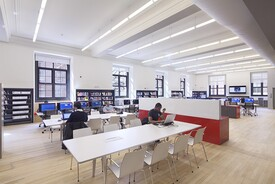 Washington Heights Library Renovation
