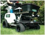 Compact spreader; electric start