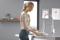 Hands-Free Faucet Control