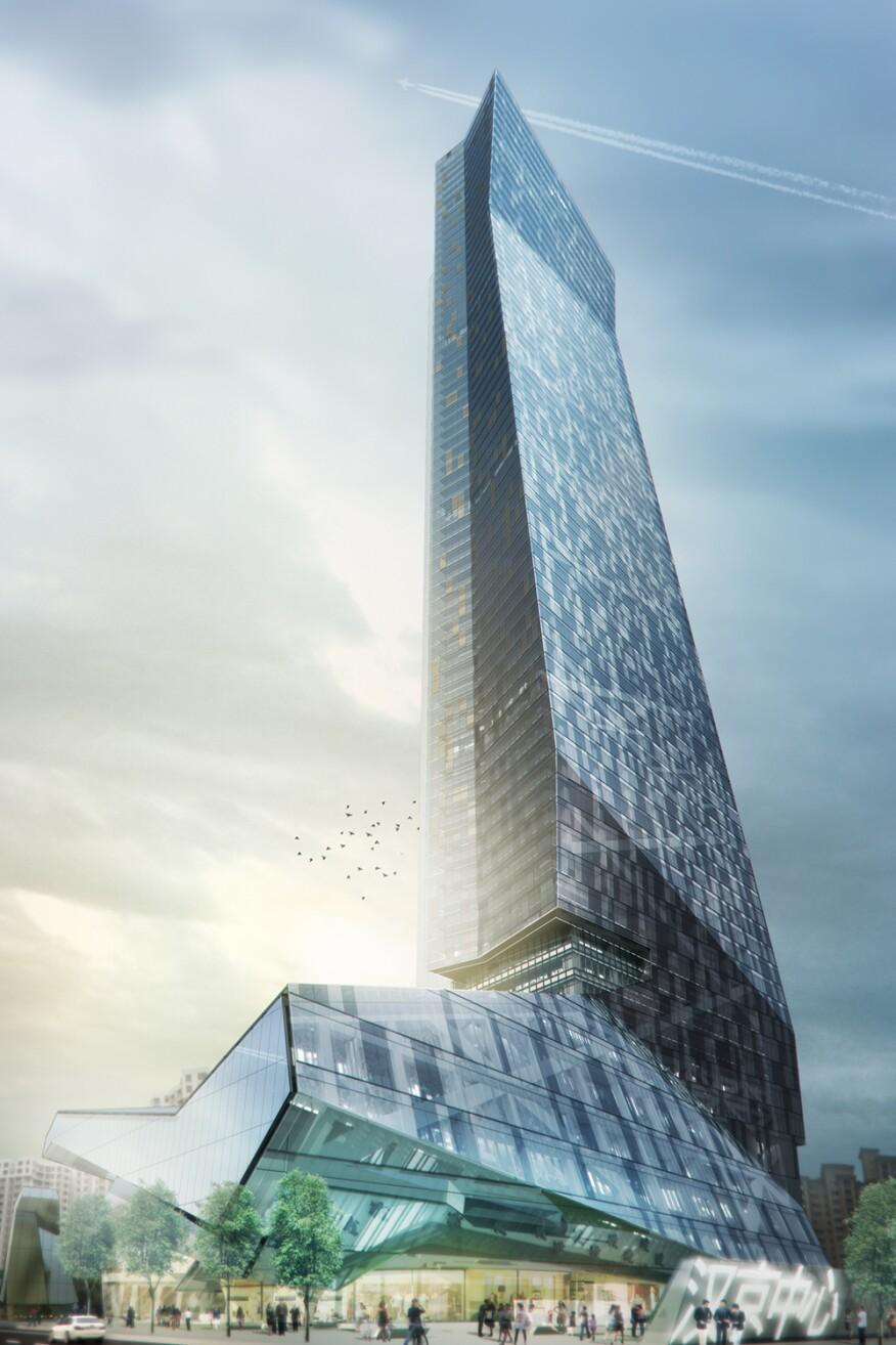Hanking Center Tower, Shenzhen, China