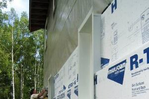 Installing Exterior Insulation in Cold Climates