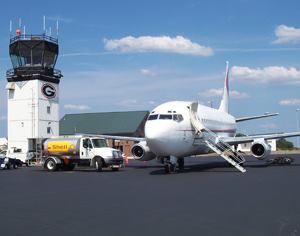 The proposal to tweak the Essential Air Service subsidy would affect 13 regional airports including this one: Athens-Ben Epps Airport in Georgia. Photo: Athens-Ben Epps Airport