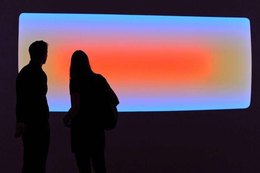 James Turrell, Kermandec (2014), a Wide Glass installation