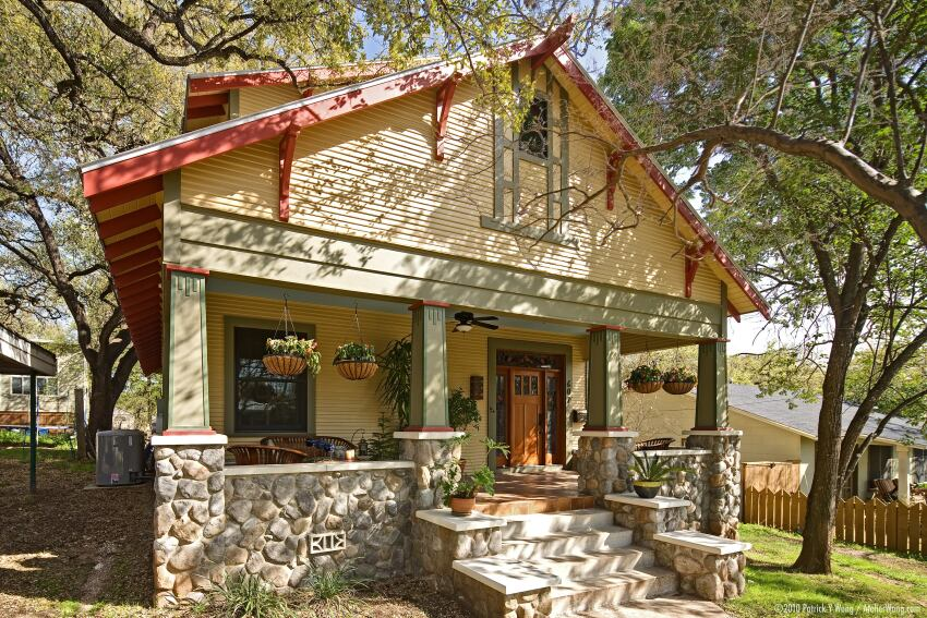 Before and After: Austin, Texas, Expanded Cottage
