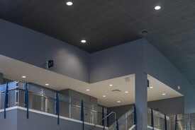 Custom Woven Wire Mesh Infill Panels - Manatee Technical Institute