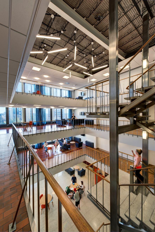 Gallaudet University Residence Hall Renovations, Washington, D.C., Studio Twenty Seven Architecture
