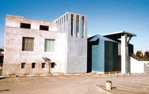 Frank Gehry's ICS/ERF at the University of California at Irvine.