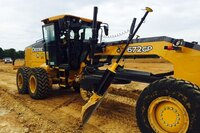 Leica Ready Now Offered on John Deere Motor Graders