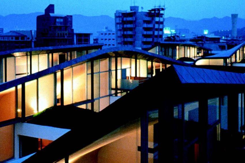 Landmarks: Nexus Housing, Fukuoka, Japan