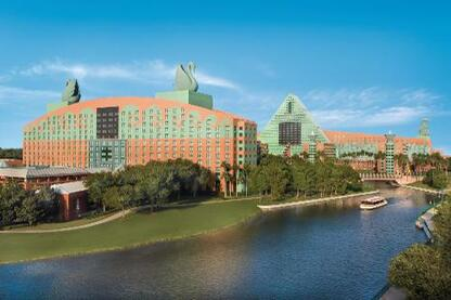 The Dolphin and The Swan Hotels at Disney