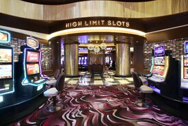 Tropicana High-Limit Slot Room