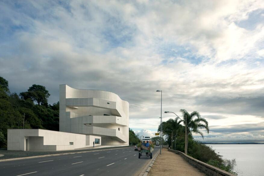 Iberê Camargo Foundation in Porto Alegre, Brazil, by Álvaro Siza Vieira