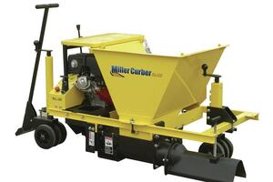 Curb and Gutter Machine by The Miller Curber Co.