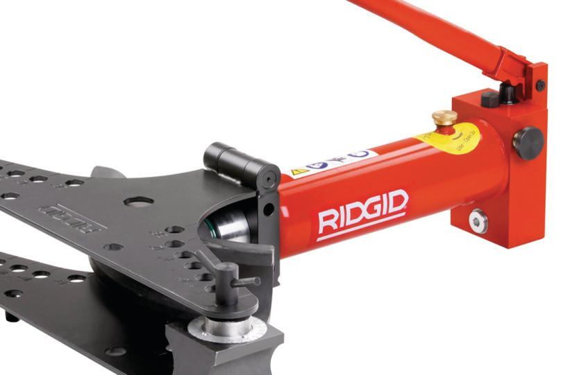 Ridgid's Manual Hydraulic Bender