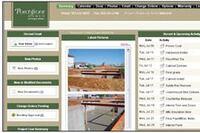 Web-based software for custom builders