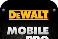 Mobile Apps: DeWalt