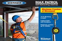 Werner's Max Patrol Self Retracting Lifelines