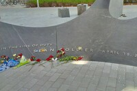Sean Collier Memorial unveiled featuring key drainage system