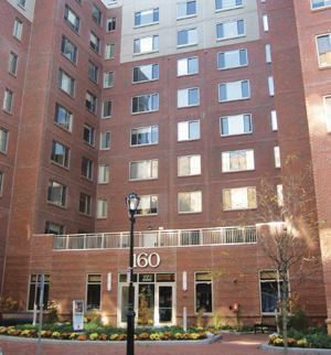 Abbot Building Restoration removed and replaced weatherproofing sealant at the Pleasant Street Apartments in Malden, Mass.
