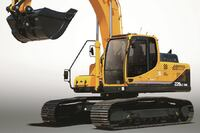 Excavator for Road and Utility Work