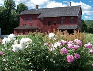 The Laundry and Machine Shop at Hancock Shaker Village in Pittsfield, Mass., showed the author that the vocabulary of vernacular architecture includes bold, cleanly articulated buildings - and that influences on her firm's work don't always have to be res