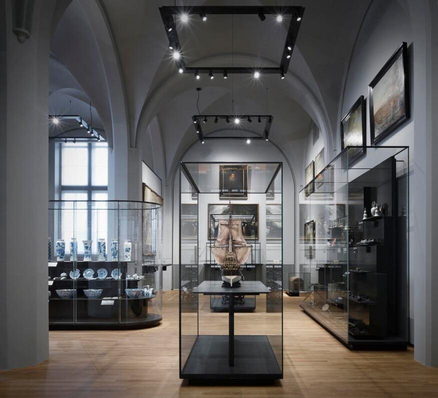Rijksmuseum Amsterdam interiors by Wilmotte & Associés