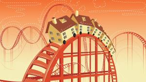 Housing's on an interest rate roller-coaster