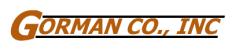 Gorman Co. Logo