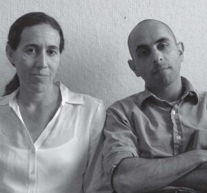 Monica Ponce de Leon (left) and Nader Tehrani