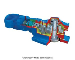 Model 20 HT/GT agitator gearbox