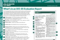 Continuous Code Compliance with ICC-ES Evaluation Reports
