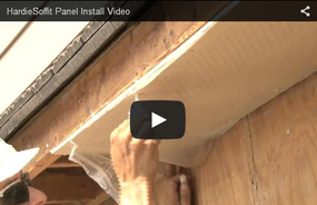 HardieSoffit® Panels Introductory Installation Video