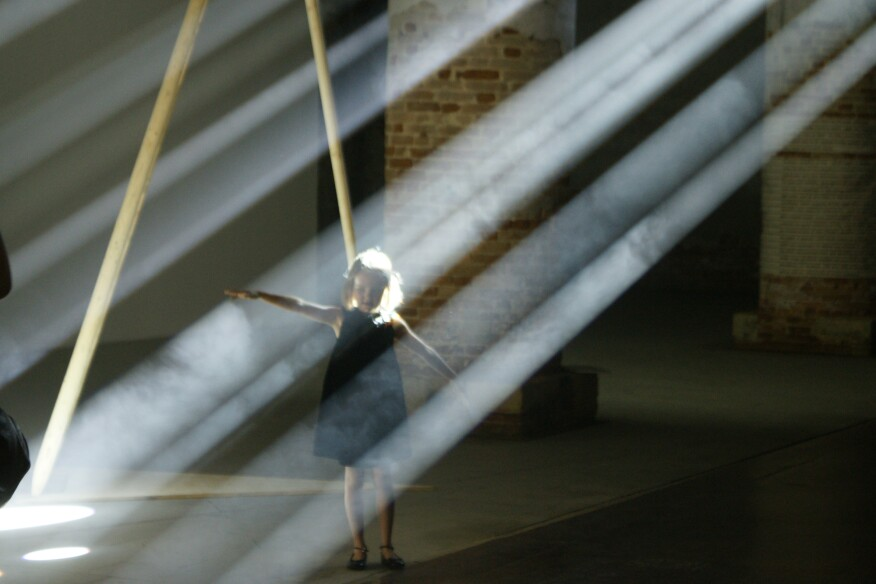 """""""Lightscapes"""" installation at the Venice Biennale"""
