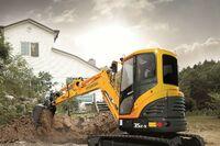 Hyundai construction Tier 4 final R35Z-9 compact excavator