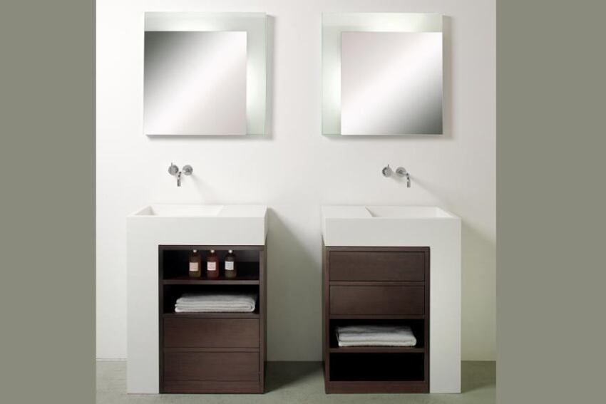 Elle washbasin unit by Rapsel
