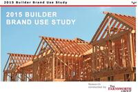 Hanley Wood Publishes 2015 BUILDER Brand Use Study Results
