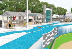 Lazy River Could Be Largest Pool in Pro Sports