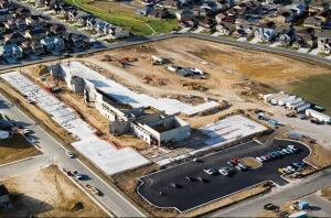 At the 68,000-sq-ft Al Meiklejohn Elementary School in Arvada, Colo., casting beds were used to facilitate and expedite construction of 165  interior and exterior tilt-up panels.