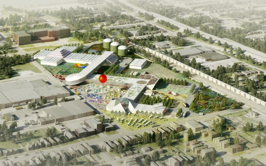 OMA Designs Master Plan for Kentucky Food Market