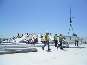 The sheer size of a roof replacement at O'Hare International Airport made the job complex enough. Security requirements made it even tougher.